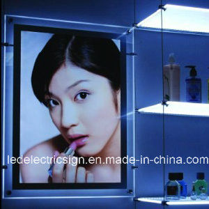 LED Crystal Frame Advertising Light Box pictures & photos