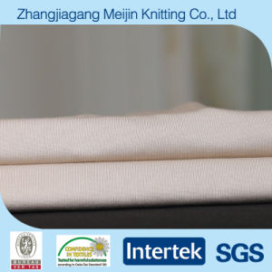 Weft Knitted Single Jersey Polyester and Spandex Lycra Fabric (MJ5003)