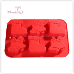 FDA & LFGB Bakeware Baking Christmas Silicone Cake Mould pictures & photos