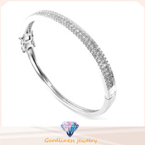 2016 Holesale Charm New Fashion Jewelry Silver Woman Bangle G41342 pictures & photos