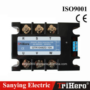 DC Input Three Phase Motor Reversing SSR Solid State Relay 25A pictures & photos