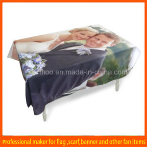 Custom Cheap 6ft Trade Show Table Cover pictures & photos
