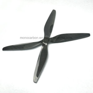 High Quality Uav Parts Real Carbon Fiber Airplane Propeller pictures & photos
