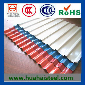 Corrugated (Roofing) Steel Sheet in House pictures & photos