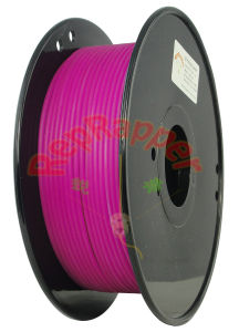 Well Coiled PLA 3.0mm Purple 3D Printing Filament pictures & photos