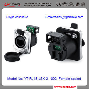 LAN Cable RJ45 Connector/Female Ethernet Connector/Cat5 Cable RJ45 Connector pictures & photos