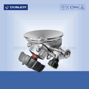 Sanitary Manual Tank Bottom Clamped Diaphragm Valve pictures & photos