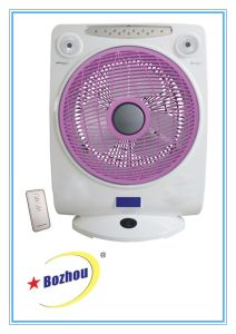 Rechargeable Fan 14 Inches AC & DC with Remote Controller pictures & photos