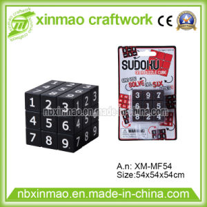 5.4cm Sudo Puzzle Cube with Blister Card Packing pictures & photos