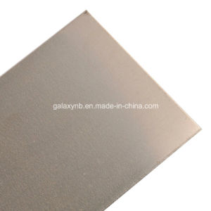 High Quality Pure Molybdenum Plate Mo1 pictures & photos