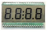 40pins Tn 4X1 Digits LCD Display for Fuel Dispenser pictures & photos