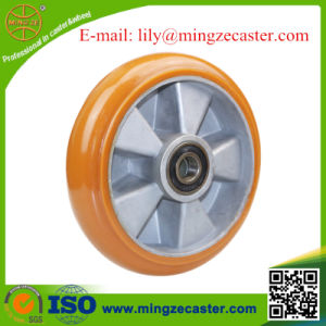Crown Polyurethane Aluminum Core Caster Wheel pictures & photos