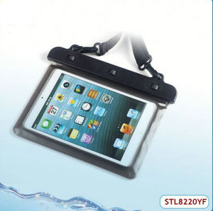 High Quality PVC Waterproof Pouch for iPad
