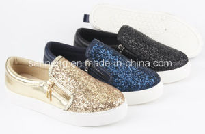 Fashion Women Bright Glitter Shoes (SNC-49049) pictures & photos