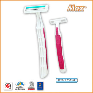 Stainless Steel Blade Disposable Twin Blade Shaving Razor (LY-2161) pictures & photos