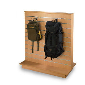 Practical Slatwall Display Shelf/Display Stand/Display Rack pictures & photos