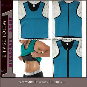 Men Underwear Waist Training Cincher Corset Latex Waist Cinchers (TKSQ7072) pictures & photos