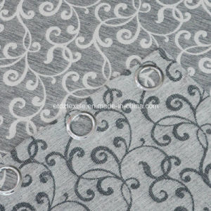 2016 European Popular Linen Touching Jacquard Window Curtain pictures & photos