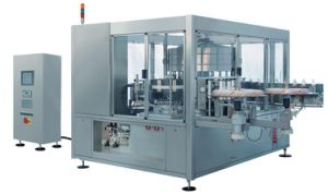 OPP Glue Roll Fed Labeling Machine pictures & photos