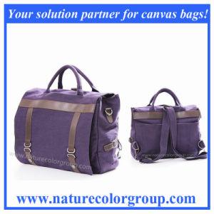 Three Way Canvas Shoulder Bag pictures & photos