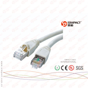 Passing Fluke Test UTP Cat5e Patch Cord Cable pictures & photos