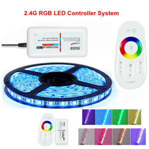 RGB Remote Full Touch 2.4G RGB LED Dimmer LED Products