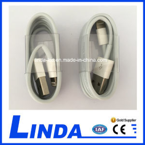 Mobile Phone Cable for iPhone 5 Lightning USB Cable pictures & photos