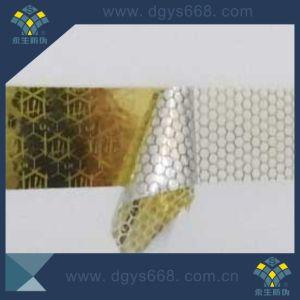 Gold Color Tamper Evident Hologram Honeycomb Sticker pictures & photos