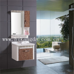 PVC Bathroom Cabinet/PVC Bathroom Vanity (KD-510) pictures & photos