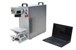 10W 20W 30W Silver Gold Ring Fiber Laser Marking Machine pictures & photos