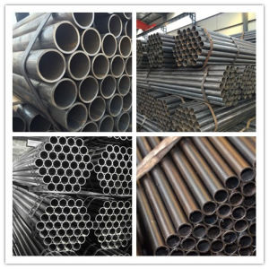Hot Sale ERW Black Welded Steel Pipe pictures & photos
