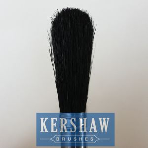 Paint Brush (paintbrush, pure black bristle flat brush with hard wood handle, flat brush) pictures & photos