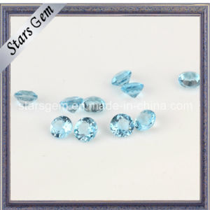 1-3mm Wuzhou Factory Price Natural Blue Topaz pictures & photos