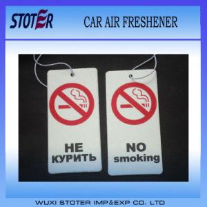 Custom Logo Printed Paper Car Air Freshener pictures & photos