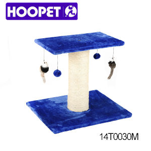 Cat House Tree with Hanging Ball Indoor Cat Furniture pictures & photos