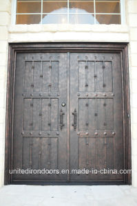 Security Square Top Iron Front Door (UID-D070) pictures & photos