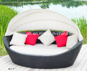 Outdoor Rattan Day Bed Gn-3638L pictures & photos