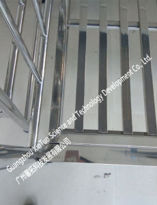 Hospital Furniture Supplier Stainless Steel Medical Baby Cot Baby Bed pictures & photos