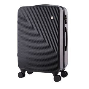 Elegant Black ABS PC Travel Trolley Luggage Suitcase pictures & photos
