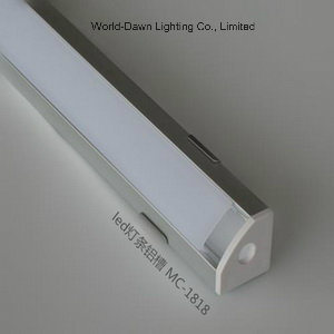 Custom Made LED Strip Light Aluminum Profile for Light Bar (MC-1818) pictures & photos