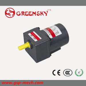 220V GS 25W 80mm AC Induction Motor with Gear Reducer pictures & photos