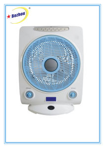 New Design Top Quality Rechargeable Desk Fan with Emergency Lights pictures & photos