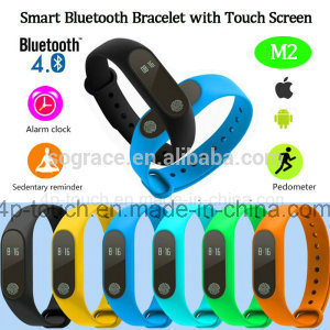 Hot Simple Wristband Smart Bluetooth Bracelet with OLED Display M2 pictures & photos