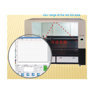 Large Vision System 800X500mm Fabric CCD Laser Cutting Machine pictures & photos