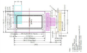 OLED 0.96``Graphic LCD Module pictures & photos