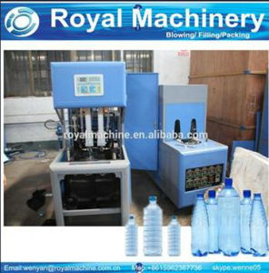 Semi Automatic Plastic Bottle Machine pictures & photos