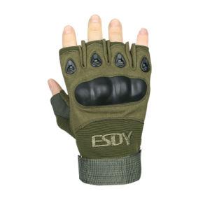 Wholesale Half Finger Esdy Outdoor Gloves Airsoft pictures & photos