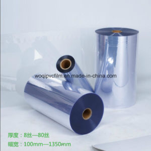 Clear Pharmaceutical PVC Rigid Film for Medicine Packaging