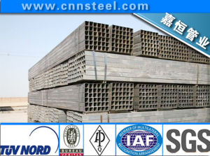 Q345b, Q235, Q195, Square/Rectangle Iron Steel Pipe in Construction pictures & photos