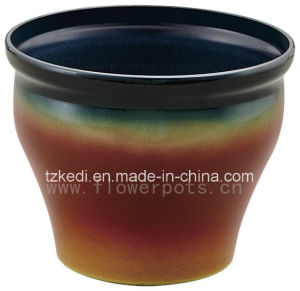 Baking Vonish Decoration Flower Pot (KD9461-KD9462) pictures & photos